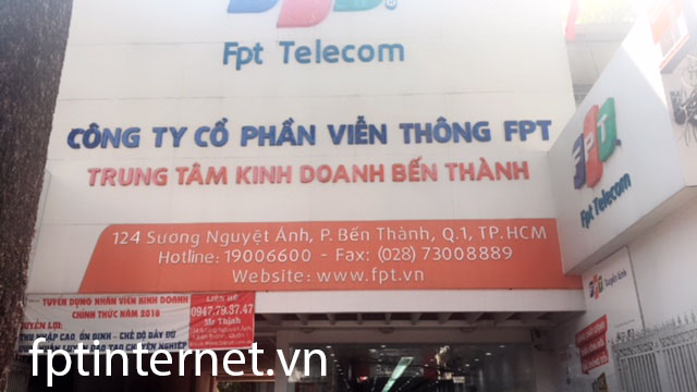 Phòng Giao Dịch FPT Telecom Quận 1